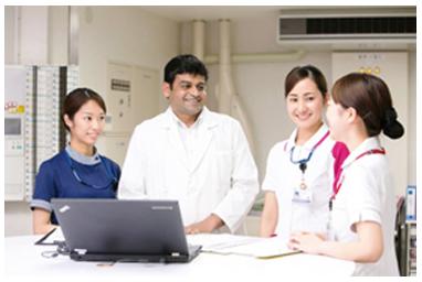 グローバルな医療環境で看護を実践のイメージ画像
